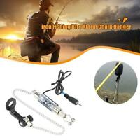 Set of 4 Carp Fishing Illuminated Hangers Swingers Bite Alarm Indicators Bobbins
