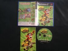 Crash Bandicoot Twinsanity PS2 console game,2004, complete