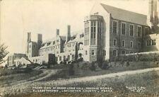 Elizabethtown Lancaster County Pennsylvania 1920s Lodge Masonic Rppc 3100