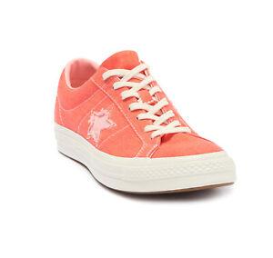 Converse One Star OX Men's Turf Orange/Bleached Coral Low Top Sneaker