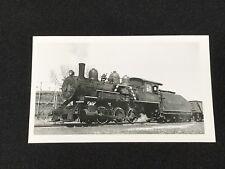 Antique Davenport Rock Island & Northwestern Railroad Locomotive No 60 Photo