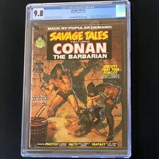 Savage Tales #2 (Marvel 1973) 💥 CGC 9.8 💥 Conan Kull Wrightson Magazine