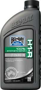 1 Bottle Bel Ray H1-R Synthetic Ester 2-Stroke Oil 1L BelRay Motorcycle ATV