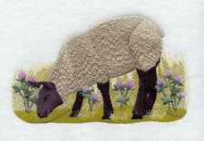 Embroidered Fleece Jacket - French Sheep G1966 Sizes S - Xxl