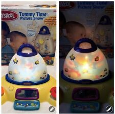 Vintage Playskool Hasbro Tummy Time Picture Show Light Projection Mobile Rare