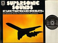 ERIC WINSTON supersonic sounds AVE 0114 uk avenue LP PS EX/EX good bad and ugly