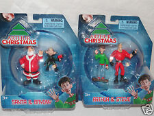 NEW IN PACKAGE  ARTHUR CHRISTMAS SANTA & BRYONY, ARTHUR & STEVE FIGURES