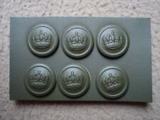 WWI WW1 imperial German buttons - set - 18,2 mm