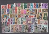 SPAIN - ESPAÑA - YEAR 1961 COMPLETE WITH ALL THE STAMPS MNH (NO MINISHEETS)