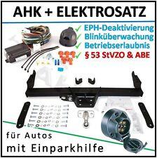 AHK ES7 Opel Vivaro ab 01 Anhängerkupplung EPH-Abschaltung Einparkhilfe komplett