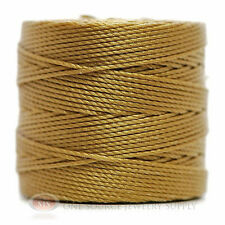 77 Yds. Super-Lon Cord #18 Bronze Beading Crafting Stringing Crochet