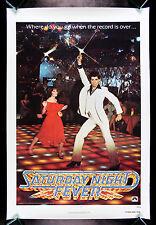 SATURDAY NIGHT FEVER * CineMasterpieces ORIGINAL ADVANCE MOVIE POSTER DISCO 1977