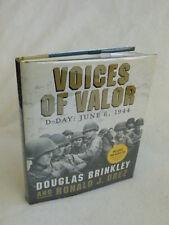 Brinkley and Drez VOICES OF VALOR Bulfinch Press 2004  HC/DJ/2CDs
