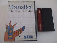TRANSBOT - SEGA MASTER SYSTEM
