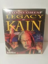 Blood Omen Legacy of Kain New Factory Sealed Activision 1997 PC Windows 95