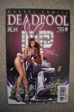 Deadpool #65 Vol 1 Playboy Homage 2002 Marvel