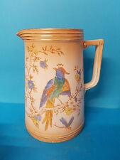 Crown Devon Fieldings #1492 Chinese Pheasant Jug / Pitcher.