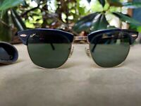 New Authentic Vintage 1980s Ray Ban Bausch Lomb B&L Clubmaster New Old Stock