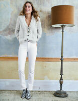 Boden Hose - Trafalgar Straight Leg Jeans - Damenjeans  Jeans Weiß UK 14 EU 42