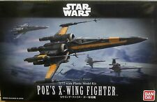 Bandai 1/72 Star Wars Model Resistance Poe's X-Wing Starfighter The Force Awaken