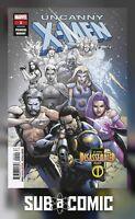 UNCANNY X-MEN #1 YU PREMIERE VARIANT (MARVEL 2018 1st Print) COMIC
