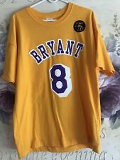kobe bryant jersey 8/24 Authentic With kB Logo. Original From Staples Center