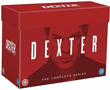 DEXTER Complete Season Series 1-8 1 2 3 4 5 6 7 & 8 Collection Boxset NEW DVD R4