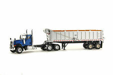 Caterpillar CT680 with East Dump Trailer - Blue - WSI 1:50 Scale #39-1003 New!