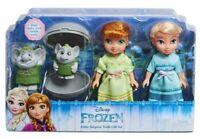 Disney Frozen Petite Surprise Trolls Gift Set w Anna & Elsa NIB/Sealed