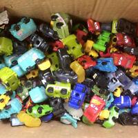 Random 10PCS Ooshies Disney Pixar Cars wheels Pencil Topper Cute toy -no repeat