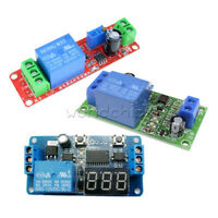 DC 12V NE555 Delay Time Relay Timer Adjustable Switch Module Digitla LED Display