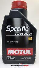 Aceite Motor Motul SPECIFIC VW 508.00 509.00 0W20, 1 litro ACEA A1/B1