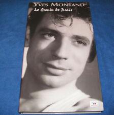 YVES MONTAND LE GAMIN DE PARIS / EDITION LONG BOX 4 CD 84 TITRES