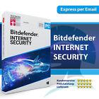Bitdefender Internet Security 2021 (1 3 5 10 PC) 1, 2, 3 Jahre <br/> Sofortversand | Aktivierungscode | DE-Händler