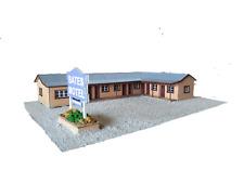 Bates Motel HO scale kit Laser cut timber kit 1:87