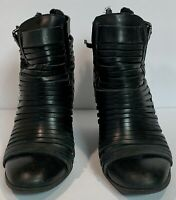 Sam Edelman Circus Women's Shoes Strappy Pump Back Size 7.5 Black