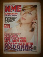 NME 1995 DEC 2 MADONNA BEATLES NIRVANA BEAUTIFUL SOUTH