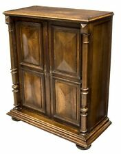 Antique French Walnut Cabinet Louis XIII Style Liquor Stereo Cabinet Chest H 46