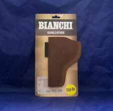 Bianchi Model 6 Waistband Holster, Rust Suede, Right Hand, 10382, Colt S&W Ruger