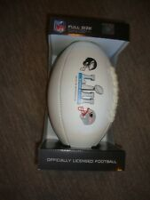 NFL Super Bowl 52 LII Minnesota Full Size Game Football Ball Eagles & Patriots