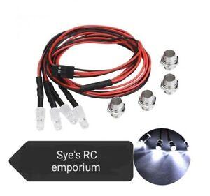 Rc car truck crawler led light kit 5mm white led x4