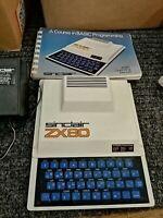 SINCLAIR ZX80 COMPUTER - WORKING - ALL ORIGINAL - 1980 VINTAGE - RARE