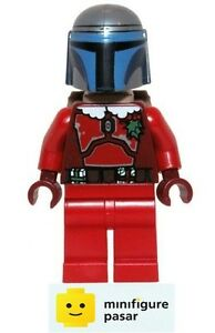 sw506 Lego Star Wars 75023 - Santa Jango Fett Minifigure Christmas Special - New
