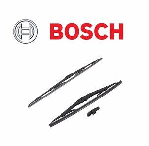 For Nissan Mercury Kia Jeep Set of 2 Windshield Wiper Blades Bosch 40513 & 40526