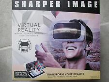 **BRAND NEW SHARPER IMAGE Virtual Reality Smartphone 360* Viewer W/Controller