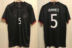 5+/5 Deutschland #5 Hummels 2020/2021 away Sz XL Germany shirt jersey trikot kit