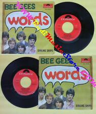 LP 45 7'' BEE GEES Words Sinking ships 1967 italy POLYDOR 59 169 no cd mc dvd