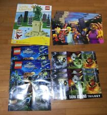 ~~ NEW!!! Lot Of LEGO Posters Ninjago Jurassic World Liberty Minifigures
