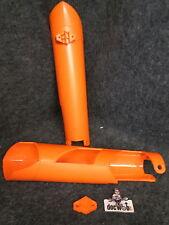 KTM SX / Sxf 125-450 2007-2014 X-Fun Orange Gabel Untere Schutz Satz FG1006