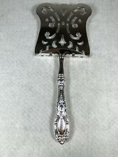 """Towle King Richard SOLID Sterling Hooded Asparagus Server 9 3/8"""" RARE"""